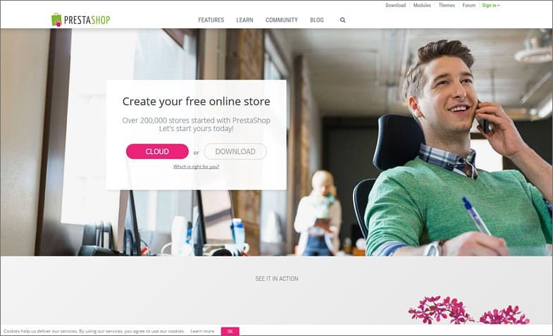 PrestaShop – ecommerce simplified