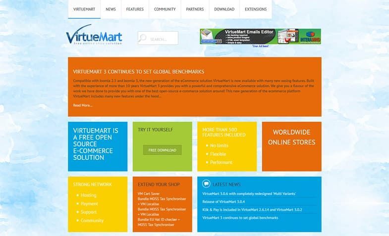 VirtueMart - Handle your ecommerce business with ease