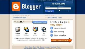 Blogger Website Builder for Blogs