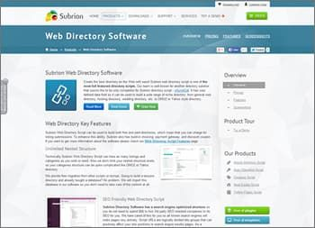 Subrion Web Directory Software