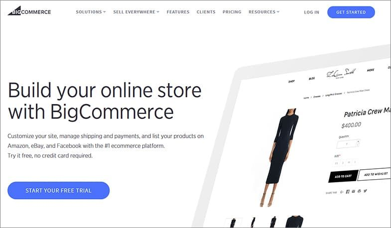 BigCommerce website builders