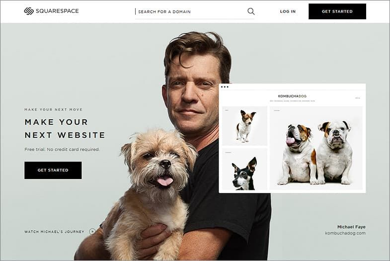 Squarespace website builders