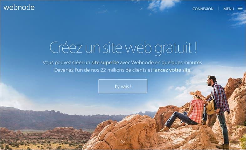 Webnode meilleurs éditeur de sites
