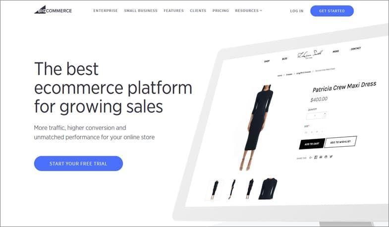 BigCommerce 最優秀サイト・ビルダー
