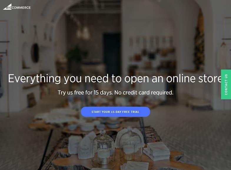 BigCommerce конструктор сайтов