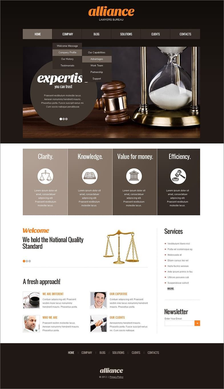 best website builders for lawyers and law firms. Black Bedroom Furniture Sets. Home Design Ideas