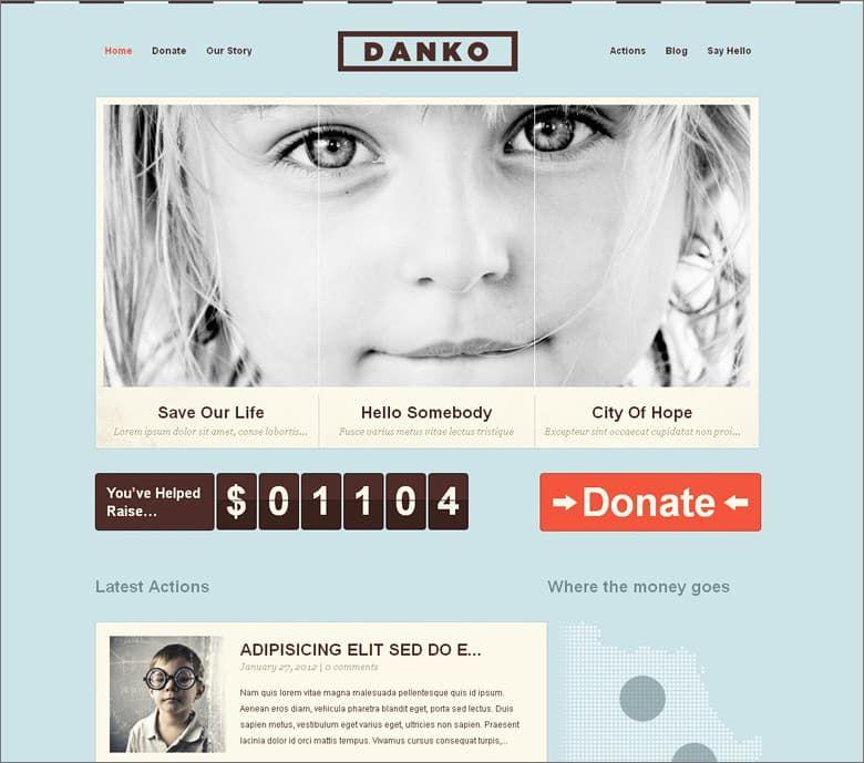 Free Danko WordPress Theme