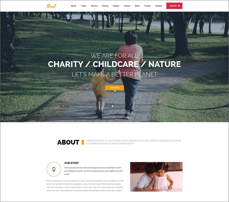 Act - Multipurpose Nonprofit WordPress Theme