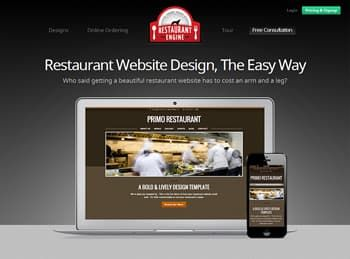 RestaurantEngine Website Builder for Restaurant