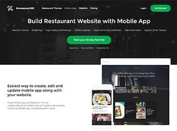 Restaurant Hill Website Builder for Restaurant