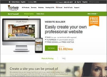 GoDaddy Website Builder for Small Business