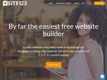 SITE123 Website Builder for Small Business