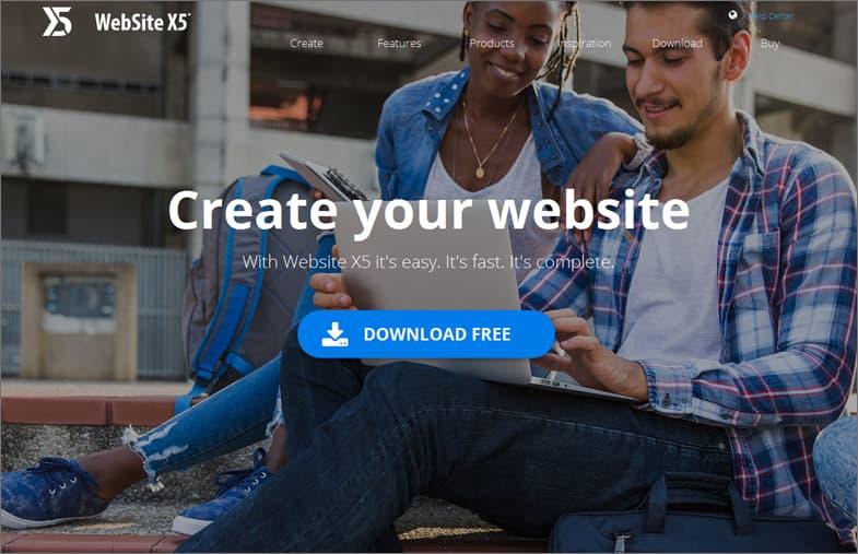 WebSite X5 website builder