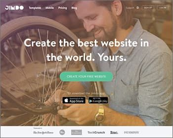 jimdo eCommerce Website Builder