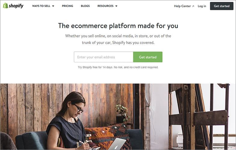 Shopify website builders