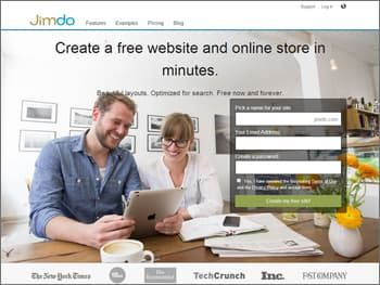 Jimdo Website Builder for Restaurant