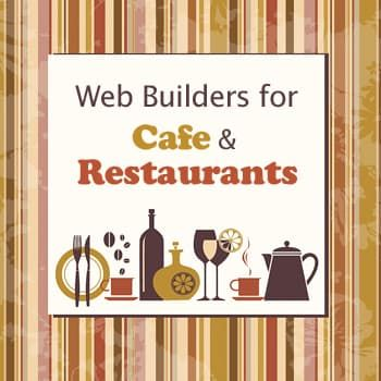 Website Builders for Restaurants
